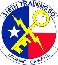 316th Training Squadron